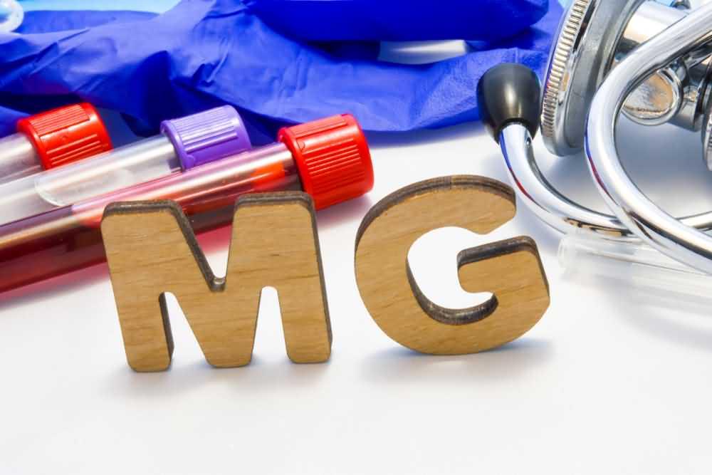 Magnesium deficiency test