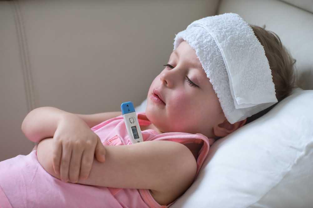 Fever, Mumps symptoms
