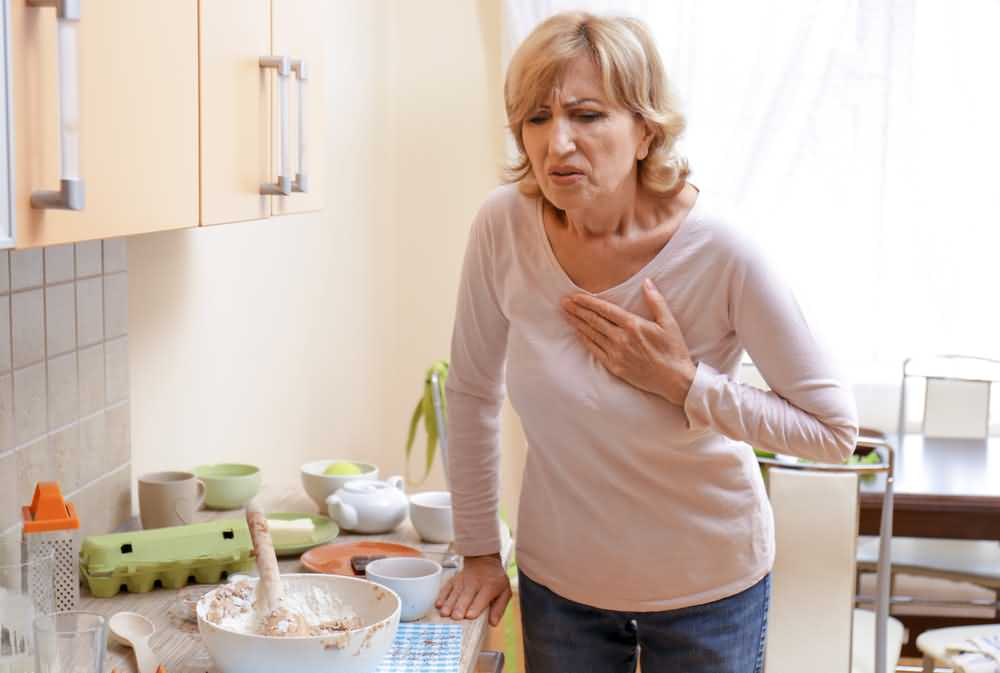 Chest pain, heart attack symptoms in women, signs of heart attack in women, heart attack in women.