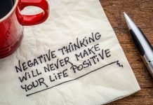 Negative thoughts, beliefs, or expectations